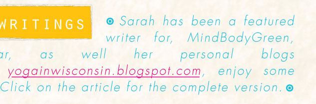 Sarah's Live Events Blog